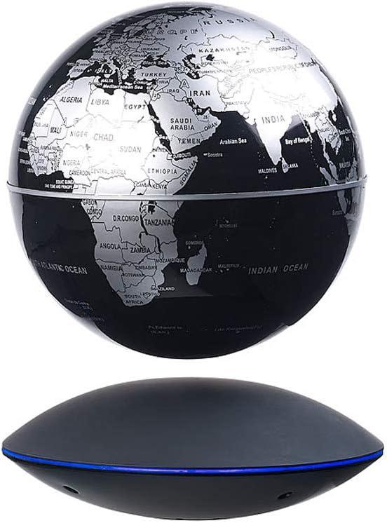 MHCYKJ Rotazione di energia luminosa levitazione magnetica globo ornamenti strumento di moto perpetuo studio di studio soggiorno desktop decorazione della casa arredamento regali creativi