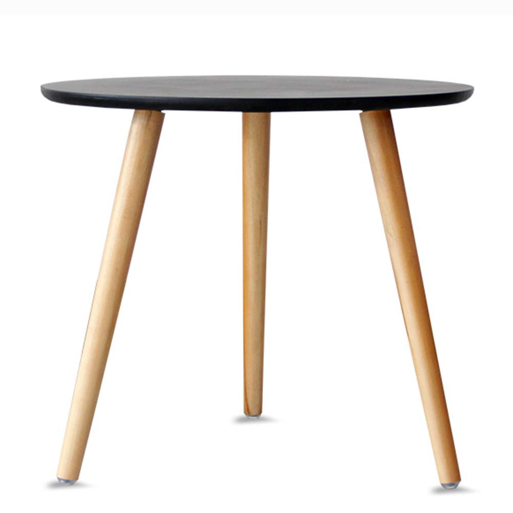 LJHA bianzhuo Side Table, Solid Wood Mini Stable 2-Layer Side Table Modern Living Room Sofa Table Bedroom Balcony Practical Simple Coffee Table Bedside Tables by GYH End Table