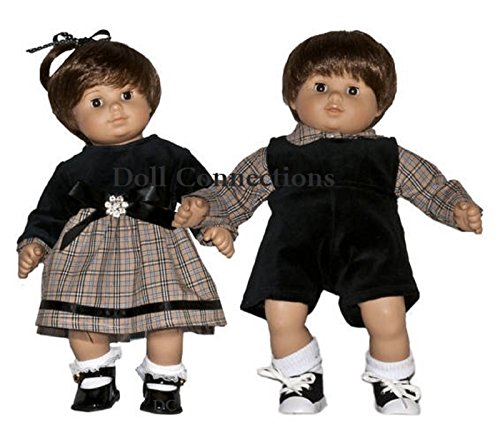 3-Piece American Doll Matching Boy and Girl Doll Outfit   15-inch Doll Clothes & Accessories   Outfits for American Girl Dolls   Doll Connections   Tammy Lee Designs
