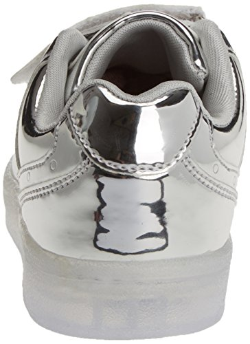 XTI Unisex-Kinder 054633 Sneakers Silber