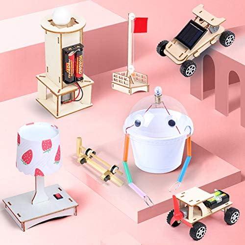 BIUYYY Wissenschaftliche Physikalische Kits, DIY STEM Spielzeug Für Kinder, Building Science Experiment Kits Für Jungen Und Mädchen, 9 Stück