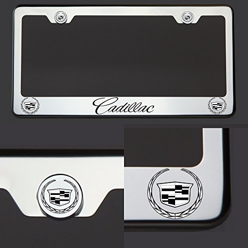 cadillac license plate bracket - 7