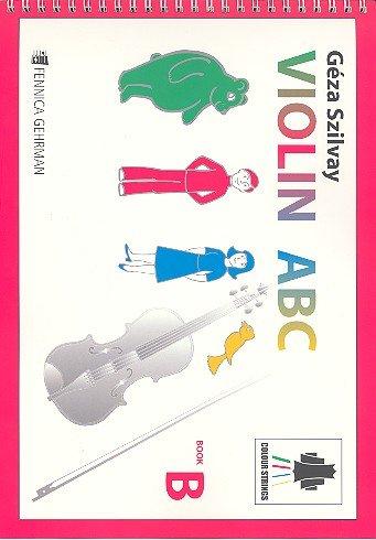 Colour Strings Violin ABC Book B