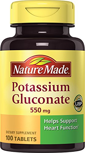 Nature Made Potassium Gluconate 550 mg Tablets 3 - Glycogen Supplement