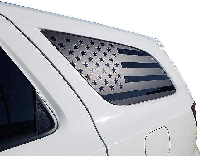 Dodge Durango USA Flag Decal Rear windows Fits 2011-2018 Side quarter DD1