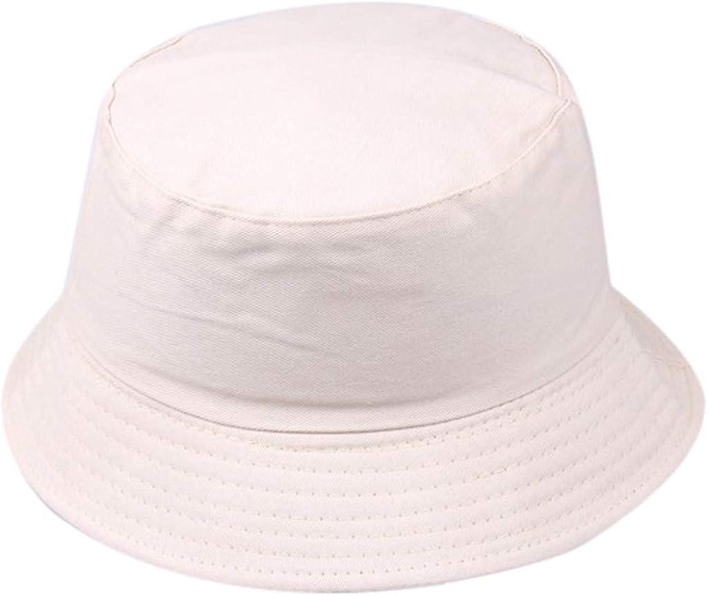 Summer Fisherman Cap Outdoor Sports Bucket Cap Unisex MONISE Cotton Bucket Hats