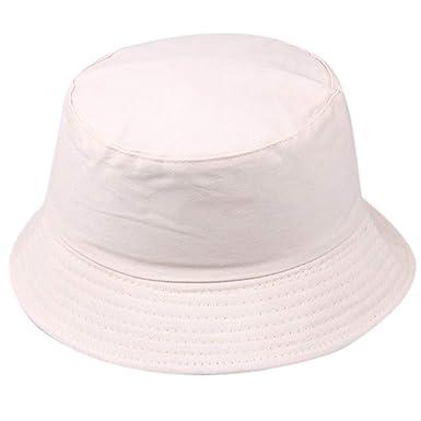 super promotions factory qualité supérieure XLGX Bob Chapeau de Soleil Chapeau de Pêche Fisherman Bonnet Couleur Unie  Anti-UV Solaire Toile Unisexe Loisirs Voyager