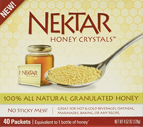 Nektar Naturals Nektar Honey Crystals  40 Count  Net Wt 4 52Oz  128G
