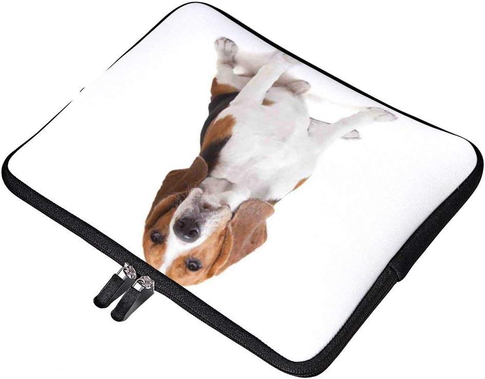 "Beagle Dog Posing Loving Puppy Furry 13 Inch Laptop Sleeve Case Bag Portable for 12.9"" iPad Pro/13 MacBook Air Pro/12.3"" Surface Pro 6/12"" Lenovo Yoga 720"