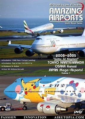 AirUtopia:Osaka Kansai Japan Island Mega-Airport Video DVD-(Airplanes, planes, Aircrafts) by David Maxwell