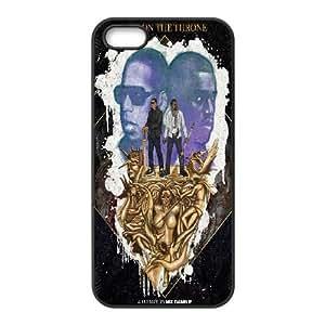 iPhone 5,5S Phone Case Black Watch the Throne BFG583024