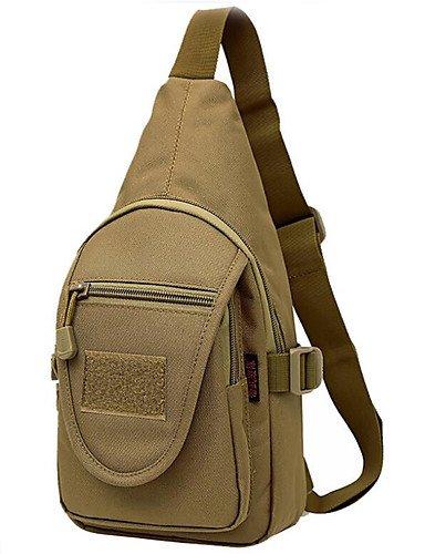 HWB/ 10 L Gurttaschen & Messenger Bags Camping & Wandern Draußen Wasserdicht Khaki