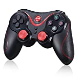 FatColo(R) Android Bluetooth Gamepad Joystick Wireless Game Controller for Smart Phones/Tablets/TVs/TV boxes - Black