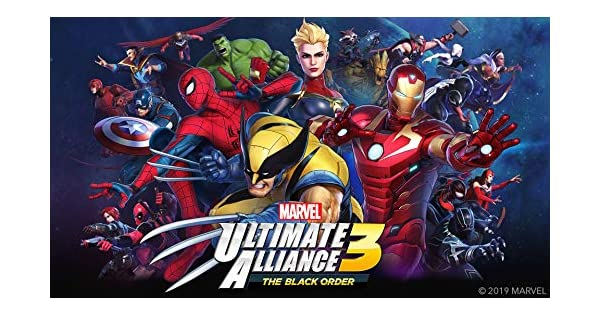 Amazon com: MARVEL ULTIMATE ALLIANCE 3: The Black Order