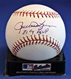 Signed Rollie Fingers 81 Cy Mvp Rawlings Official Major League Basebal - Certified Autograph