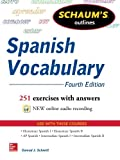 Schaum%27s Outline of Spanish Vocabulary