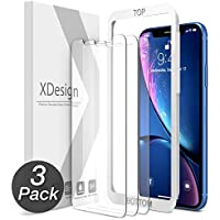 XDesign Glass Screen Protector Designed for Apple iPhone...