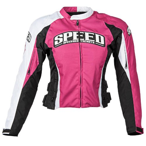 Speed & Strength Throttle Body Womens Textile Jacket , Gender: Womens, Primary Color: Pink, Size: Sm, Apparel Material: Textile, Distinct Name: Pink 877251