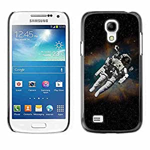 Shell-Star ( Astronaut Cosmonaut In Space ) Fundas Cover Cubre Hard Case Cover para Samsung Galaxy S4 MINI / i9190 / i9192