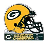 NFL Green Bay Packers 2010 Super Bowl XLV Champion Die Cut Pennant