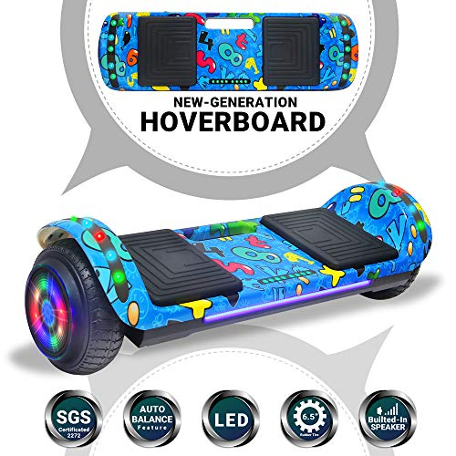 Beston Sports Newest Generation Electric Hoverboard Dual Motors Two Wheels