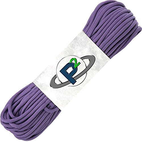 PARACORD PLANET Mil-Spec Commercial Grade 550lb Type III Nylon Paracord 25 feet -