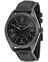 Hamilton Khaki Field Quartz H68401735 Black / Black Rubber Analog Quartz Mens Watch