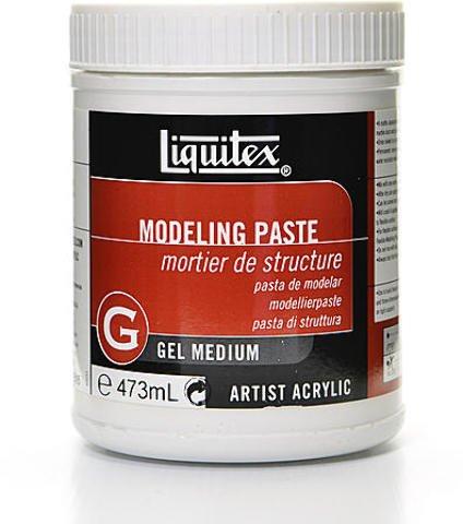 Liquitex Acrylic Modeling Paste (16 oz.) 1 pcs sku# 1836441MA by Liquitex