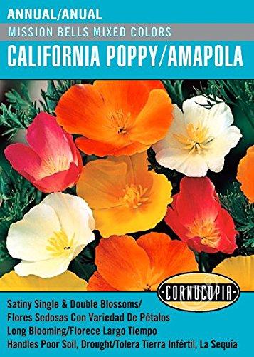 Amazoncom Mission Bells Mixed Colors California Poppyamapola