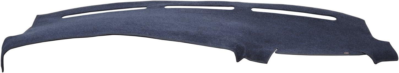 DashMat Original Dashboard Cover Dodge Van Premium Carpet, Red 72025-00-76