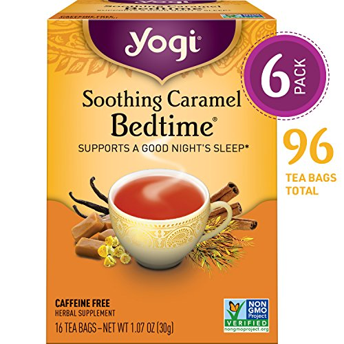 Yogi Tea - Soothing Caramel Bedtime - Supports a Good Night