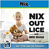 Nix Lice & Bed Bug Killing Spray for Home, Bedding