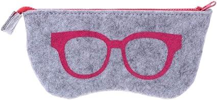HQWLCIYD Estuche de lápices Estuche para lentes Protable Zipper Eye Gafas Gafas de sol Estuche Bolsa Bolsa Protector de almacenamiento, Style5: Amazon.es: Oficina y papelería