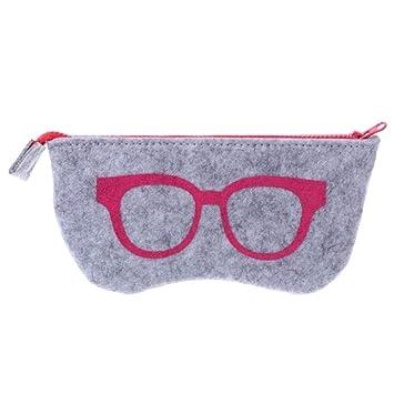 HQWLCIYD Estuche de lápices Estuche para lentes Protable ...