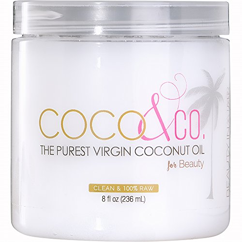 (Coconut Oil for Hair & Skin By COCO&CO. Beauty Grade 100% RAW (8oz))