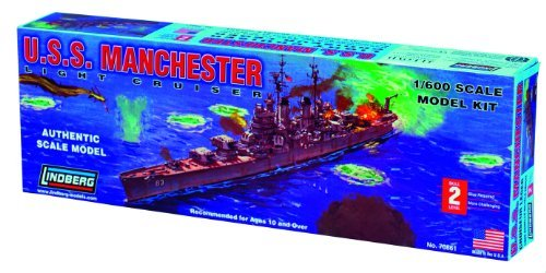 - LN70861 1/600 US Navy light cruiser Manchester