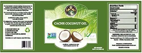 Kosher, Non-GMO Verified, Coconut Oil, half a lt(16.4 OZ)