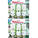 6 PC Daylight Bulb Light 33 W Energy 150 Watt Output White Compact Fluorescent