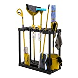 BS Garden Tool Organizer Rack Storage Floor Tools Holder Sturdy Lightweight 40 Handle Stand-up Tool Organizer Solid Base Stable Construction Storage Utility for Home Garage Shed & eBook by BADA shop