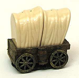 VoojoStore Covered Wagon Salt and Pepper - Perfect Gift For Men Women Couples Grandpa Father Mother Engagement Wedding Anniversary Christmas Birthday Him Her Sister Wife Husband