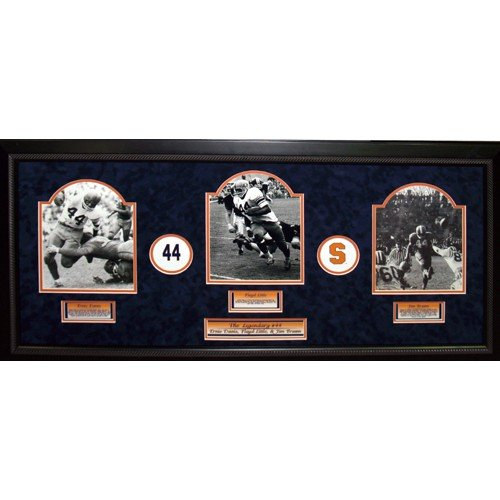 Syracuse Football Legacy of 44 Elite Dynasty Collage by Biggsports