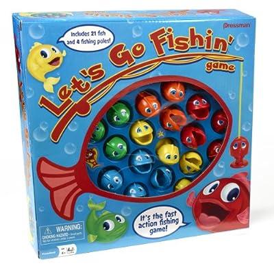 Let's Go Fishin' from Pressman Toys