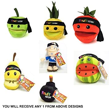 Amazon.com : Character Fruit Ninja Sensei, Pineapple, Pear ...
