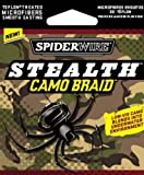 Spiderwire Stealth Braid 125-Yard Spool (Camo, Pound/Diameter 20/6), Outdoor Stuffs