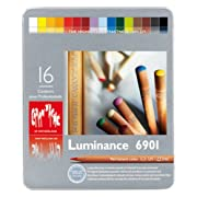 カランダッシュ ルミナンス色鉛筆 16色セット 6901-316