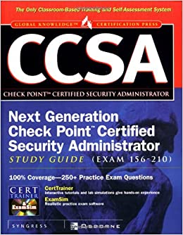 Buy CCSA: Check Point Certified Security Administrator Study