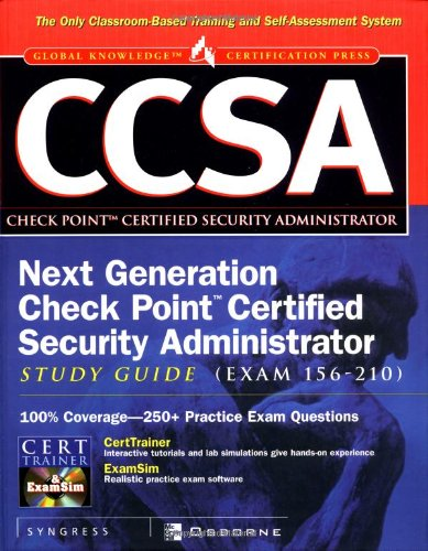 Buy CCSA: Check Point Certified Security Administrator Study Guide ...