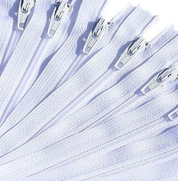 18\ Zipper YKK #3 Skirt /& Dress ~ 6 Black and 6 White 12 Zippers // Pack
