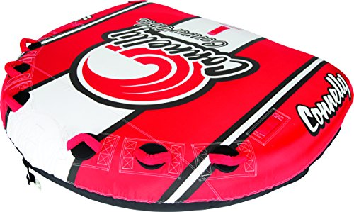 Connelly Tube (Connelly Deck Towable Tube (3 Rider), Red/Blue)