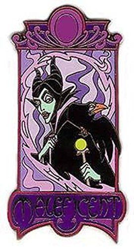 Disney Auctions Maleficent and Diablo Art Nouveau Pin 31088 LE 1000 (Art Nouveau Auction)